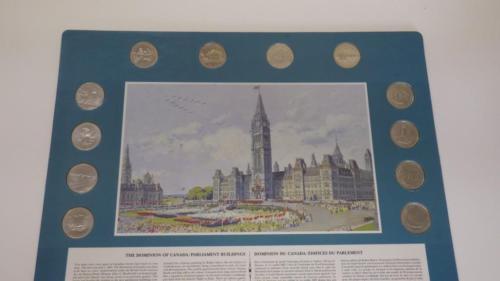 1992 MINT 12 Coin Set '12 Provincial quarters'