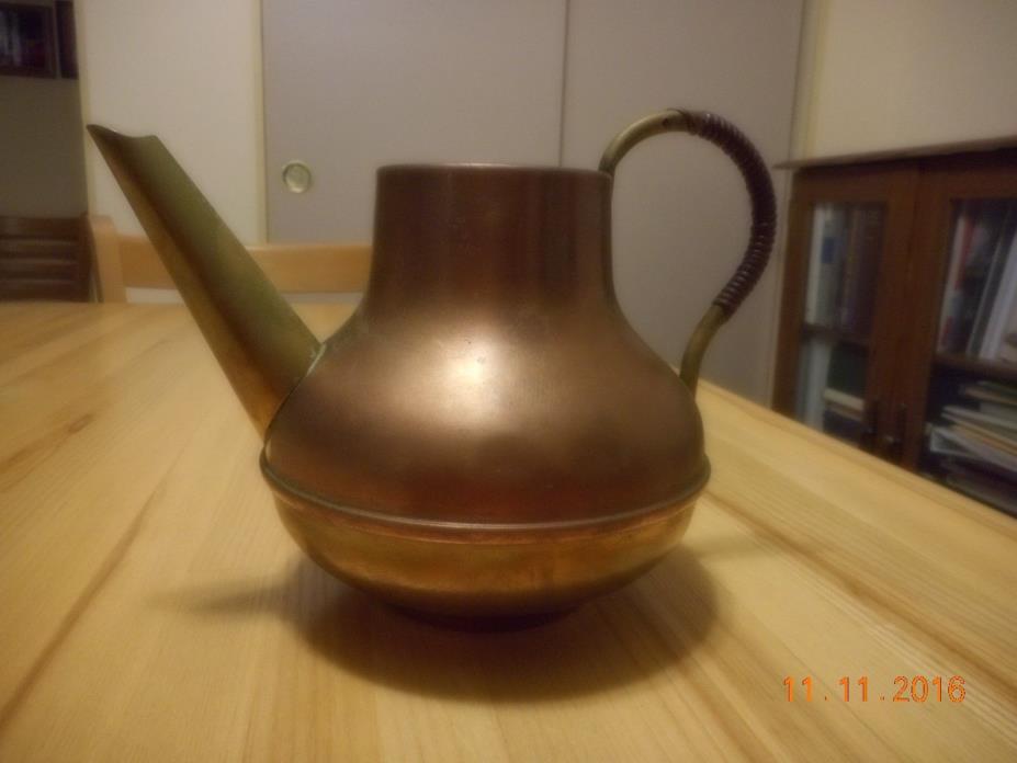Brass & Copper Teapot Holland