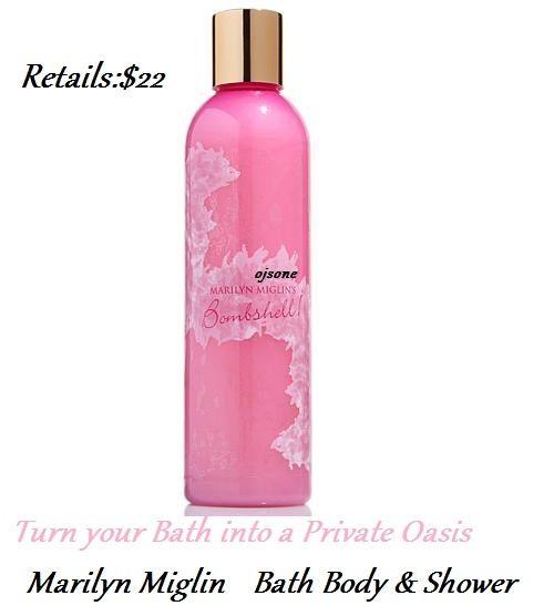 Marilyn Miglin Bombshell Bath  Body & Shower Gel Wash Crème Moisturizers 8 oz