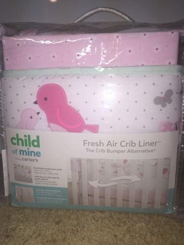 Carter's Fresh Air Crib Liner (Child of Mine) BRAND NEW IN PACKAGE!