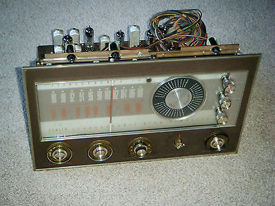 Zenith Stereo AM/FM Tuner Preamp Preamplifier 6BQ5 Tube Console AS-IS Not Tested