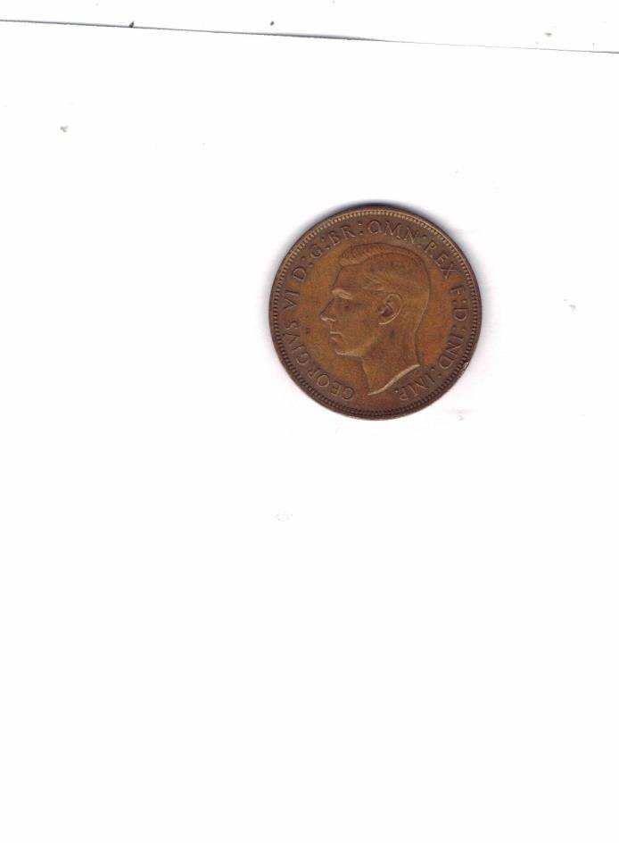 1946 1 (ONE ) CENT CANADA