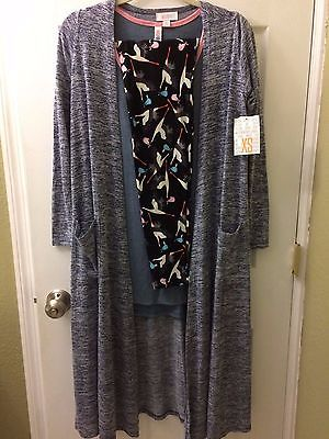 Lularoe OS Stork Leggings Outfit XS Sarah M Classic T Baby Shower gift Set NWT