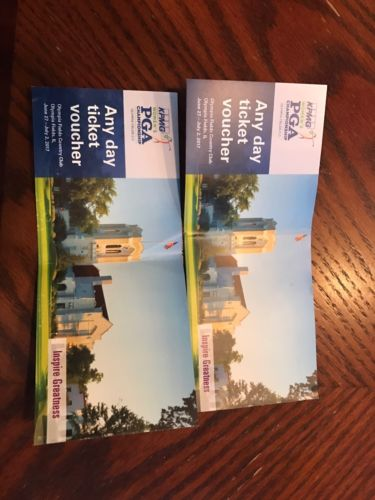 Women's LPGA Ticket Voucher -- Olympia Fields CC 6/27-7/2