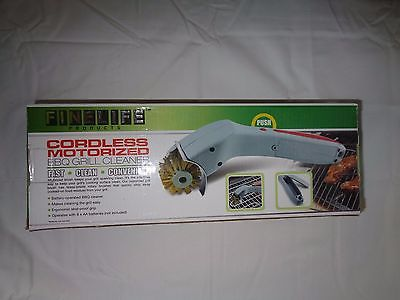 Cordless Motorized BBQ Grill Brush Power Cleaner NEW In Box
