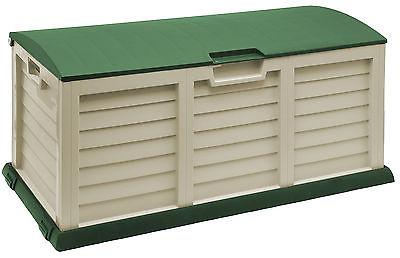 Starplast 103 Gallon Plastic Deck Box