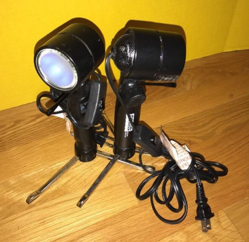 2- American Recorder Photo Studio Digital Photography Lights