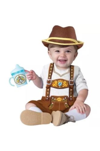 Infant Toddler Baby Bavarian Costume size 12-18 month