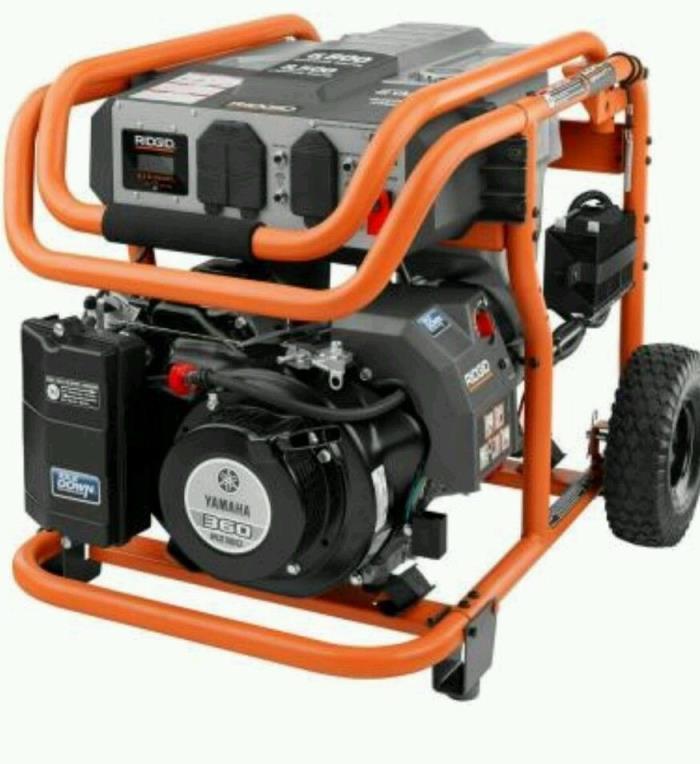 Yamaha ridgid portable generator for sale classifieds for Ridgid 6800 watt generator with yamaha engine