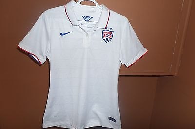 large LG  Women's U.S. USA Soccer Jersey NWT Nike 578013 + 2014 World Cup