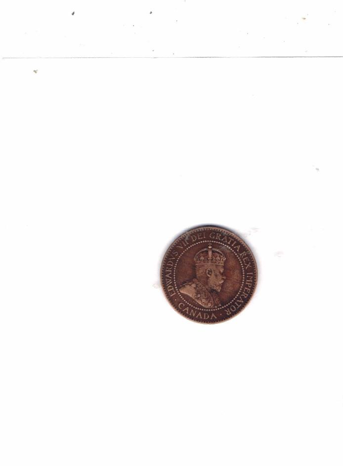 1906 1 (ONE ) CENT CANADA