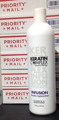KERATIN COMPLEX BY COPPOLA INFUSION 16 oz, NEW, FREE PRIORITY MAIL SHIPPING