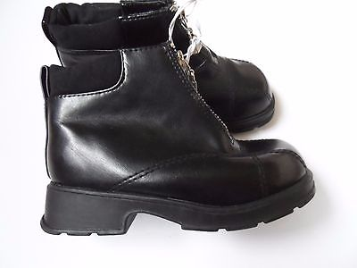 New Toddler Girls' Black Boots - Size: 10 1/2