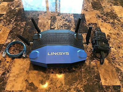 Linksys WRT1900AC 1300 Mbps 4-Port Gigabit 802.11 a/b/g/n/ac Wireless Router