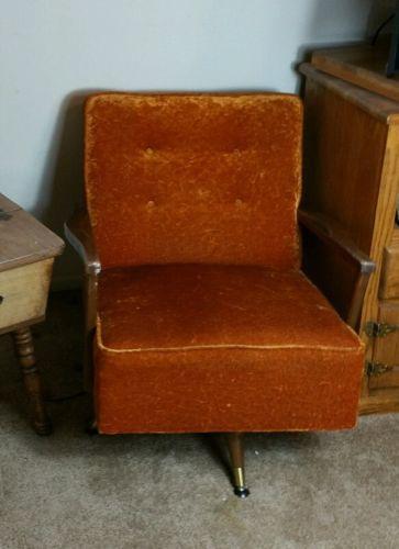 vintage velvet chair for sale classifieds. Black Bedroom Furniture Sets. Home Design Ideas