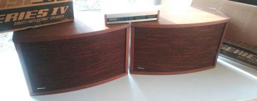 Bose 901 Series IV Direct Reflecting Speakers-Need Repair/Refurbishing