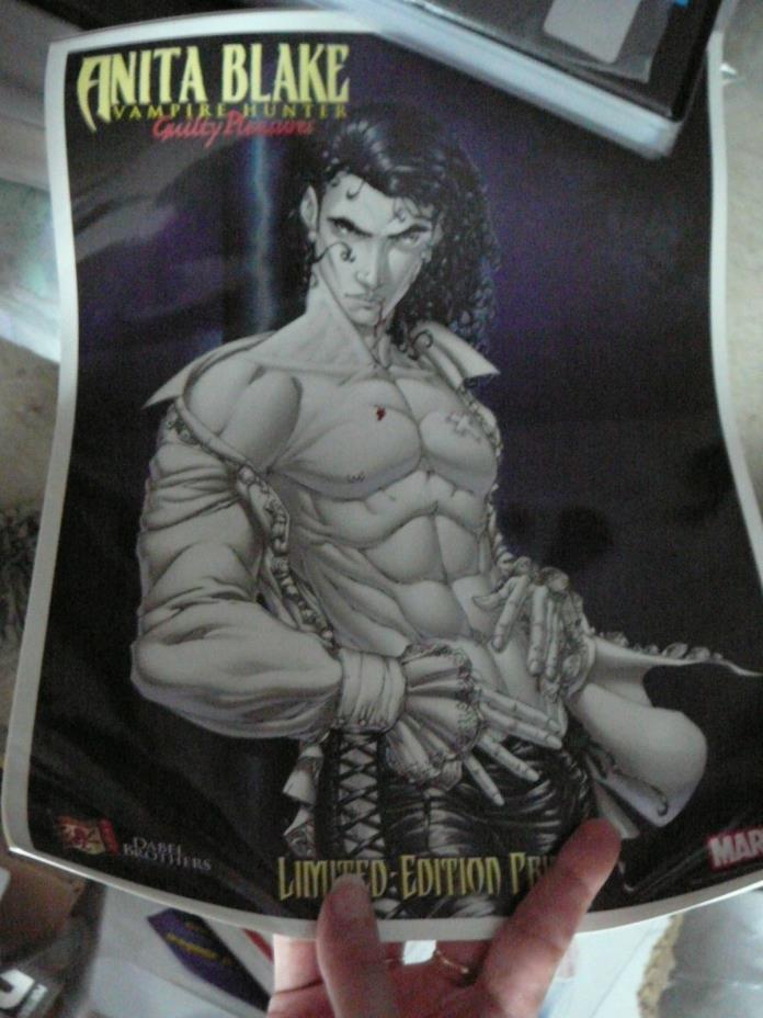 ANITA BLAKE: VAMPIRE HUNTER/GUILTY PLEASURES Limited Edition Print 2006 Marvel