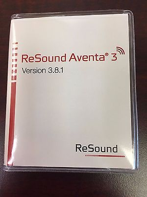 Resound Aventa 3 Version 3.8.1 Hearing Aid Fitting Programming Software