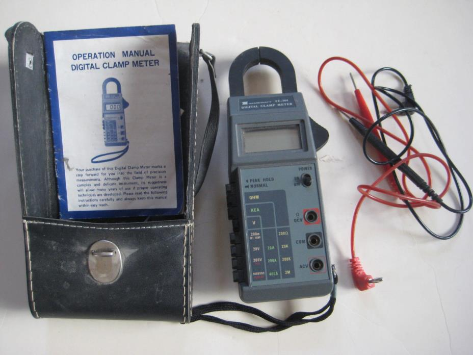 Marcraft AE-304 digital clamp meter