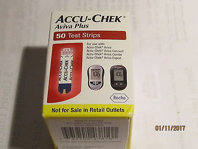 ACCU-CHEK AVIVA PLUS 50 TEST STRIP