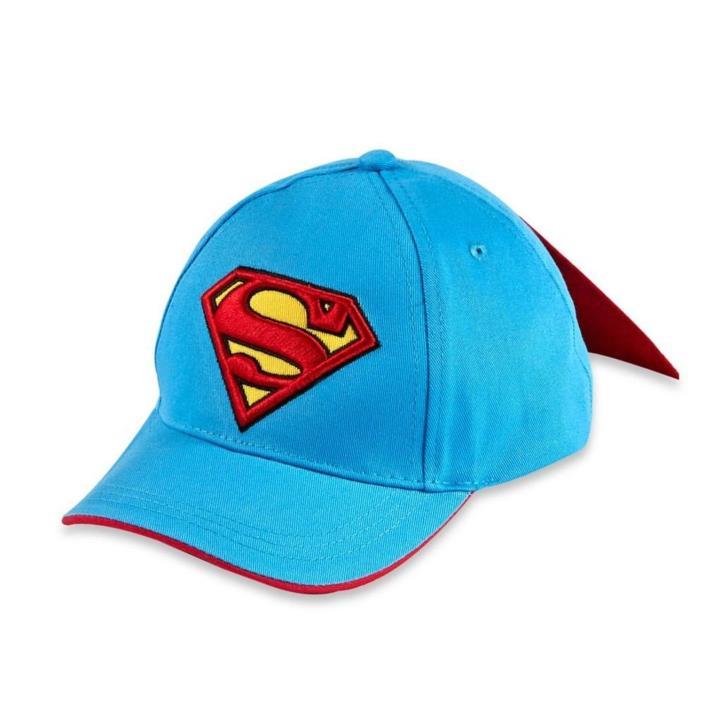 DC Comics Superman Toddler/Boys Baseball Cap with Cape