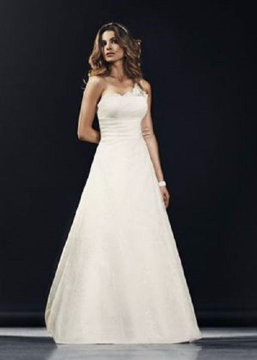 European Lace Wedding Dress by Lilly