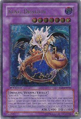 Ultimate Rare - King Dragun - FET-EN036 NM Flaming Eternity Yugioh