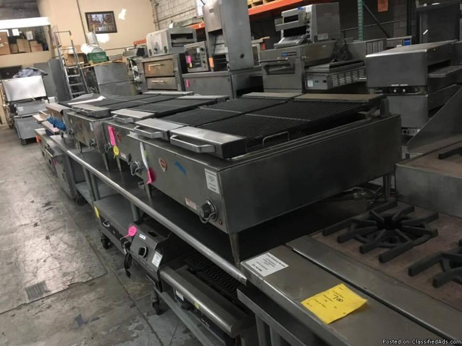 Grills / Griddles / Charbroilers / Ovens / Cooking Equipment