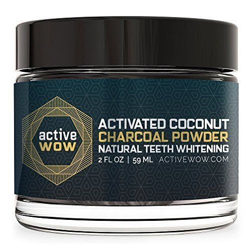 Teeth Whitening Powder Charcoal Activated Professional Natural Cosmetics NEW