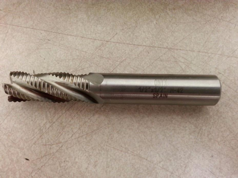 Fine Pitch M42 Cobalt Roughing End Mills, 4 Flute, 1/2