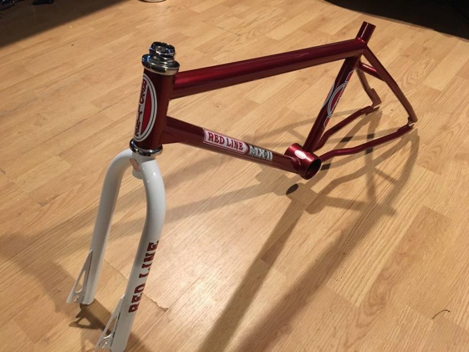 Redline MX-ii Frame and Fork Old School BMX