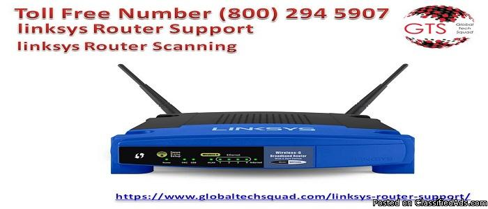 Linksys Router Support USA 1-800-294-5907