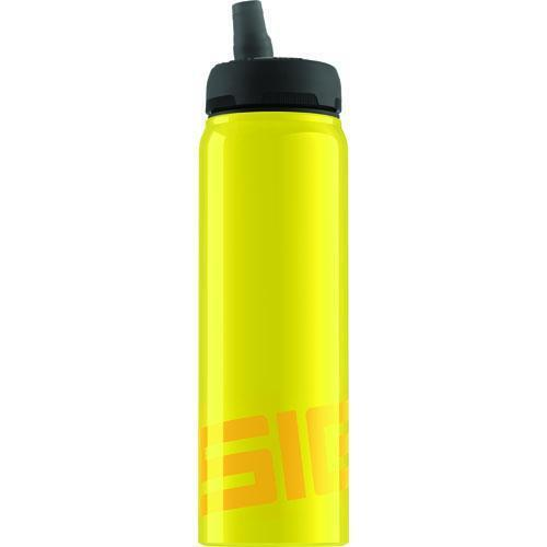 Sigg Water Bottle - Nat Yellow - .75 Liters - Premium Swiss Made Bottle