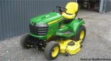 John Deere X Garden Tractor