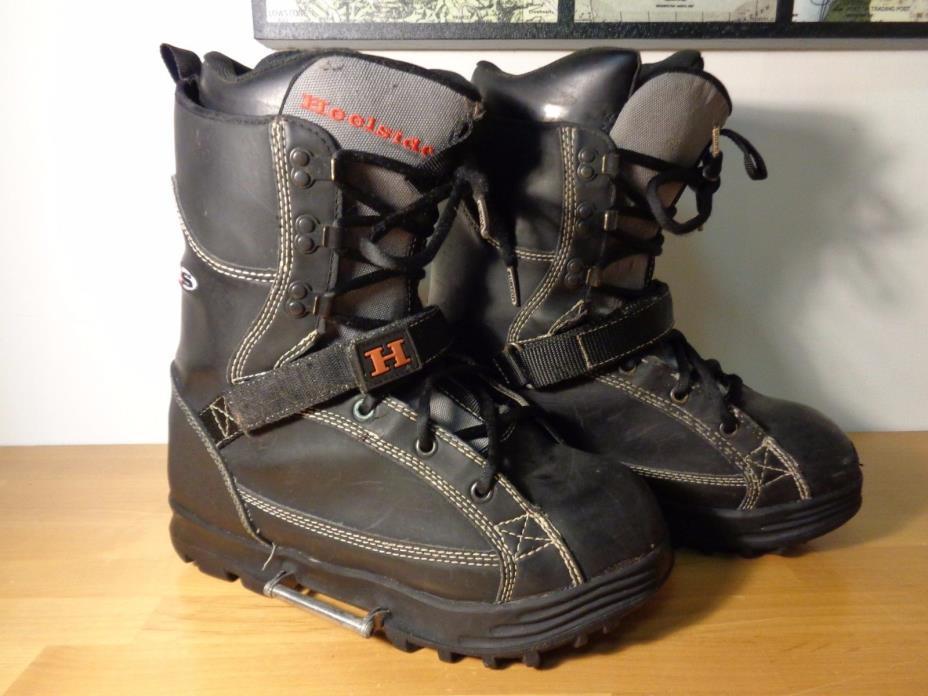 Heelside Xtype  Stepin Snowboarding Boots Mens Size 12