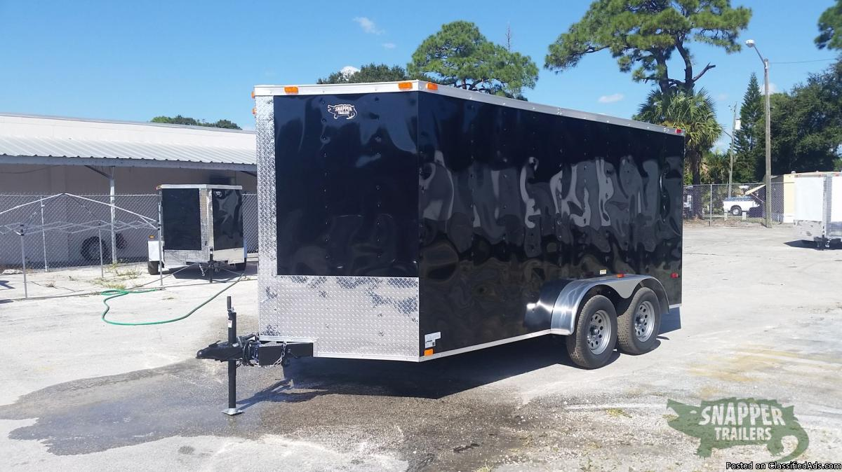 New trailers for sale!  7 x 14 foot RV Side with Bar Lock Moving Trailer with...