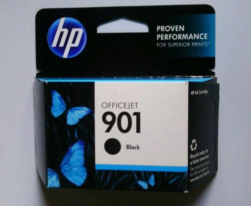 NIB Genuine HP 901 Black Ink Cartridge  CC653AN
