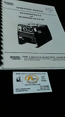 Lincoln Ranger 9 Generator & Welder Manual