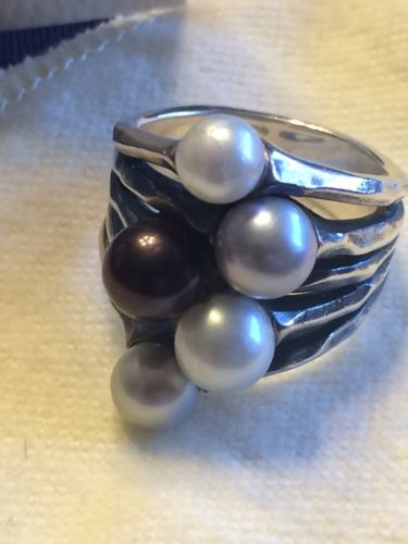 James Avery Cultured burgeon Pearl Ring