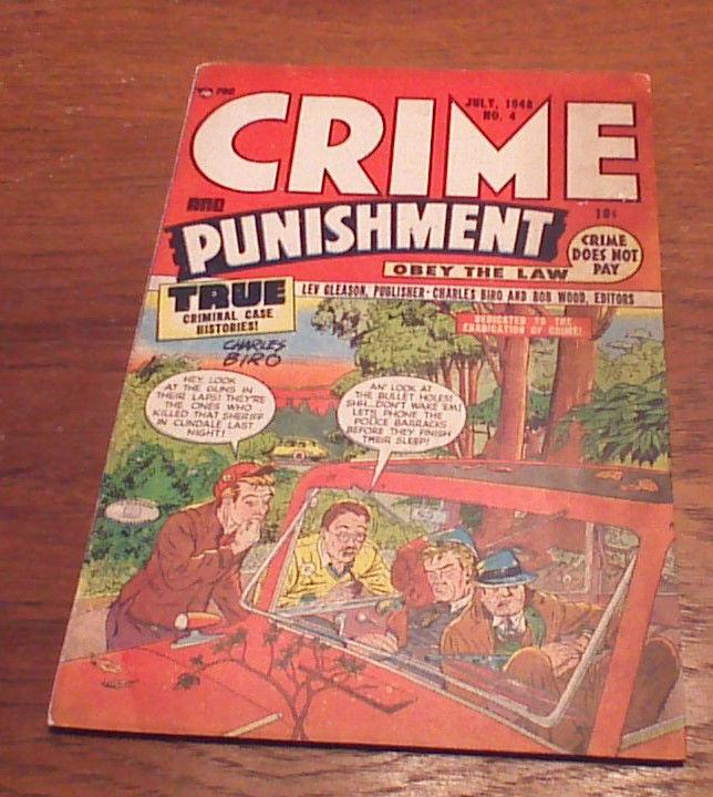 Crime and Punishment #4 (Jul 1948, Lev Gleason)