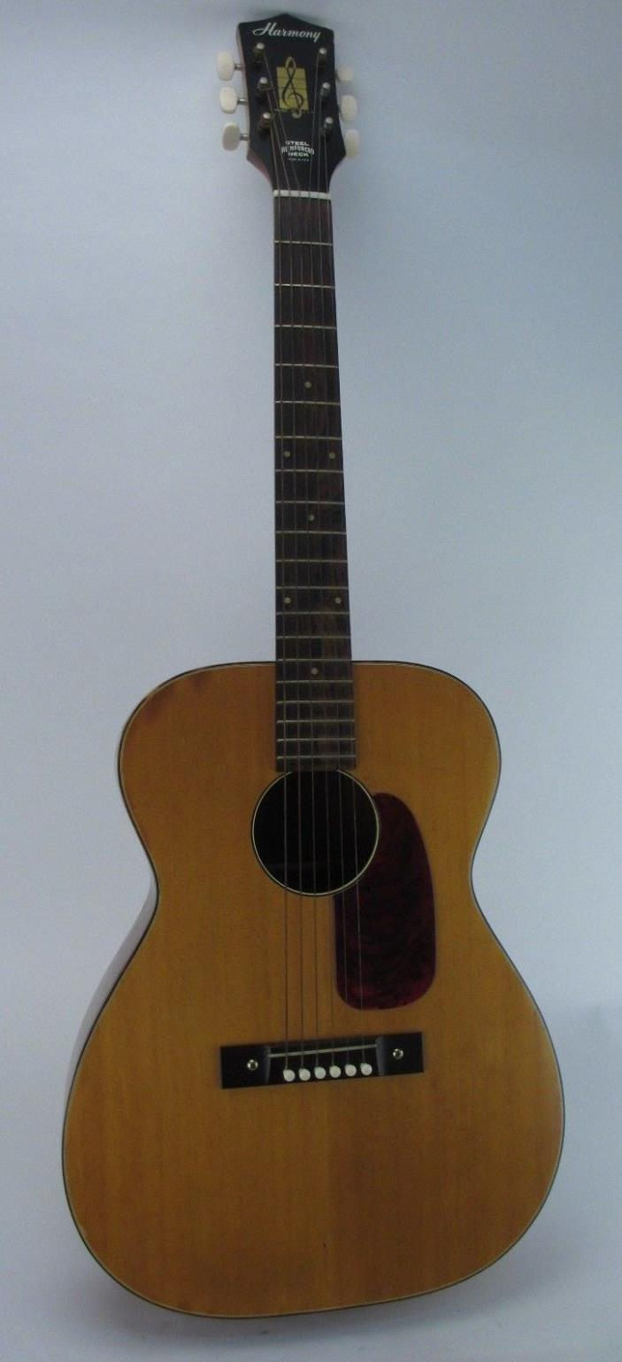 Vintage Harmony H-162 Steel Reinforced Neck Acoustic Guitar