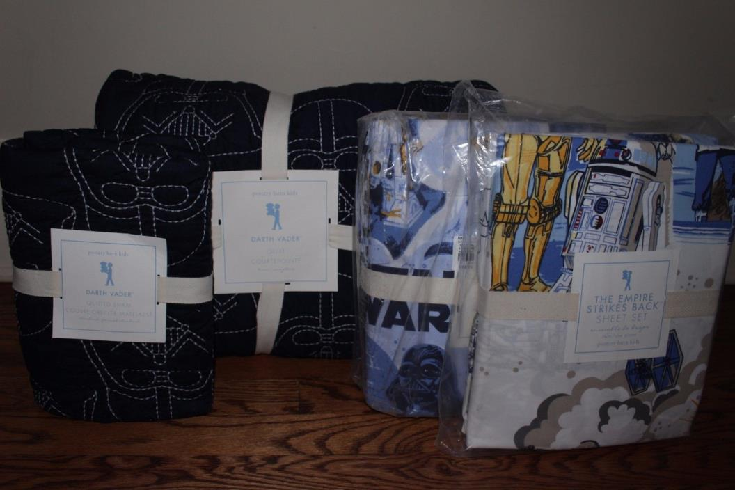 Pottery Barn Star Wars Bedding For Sale Classifieds