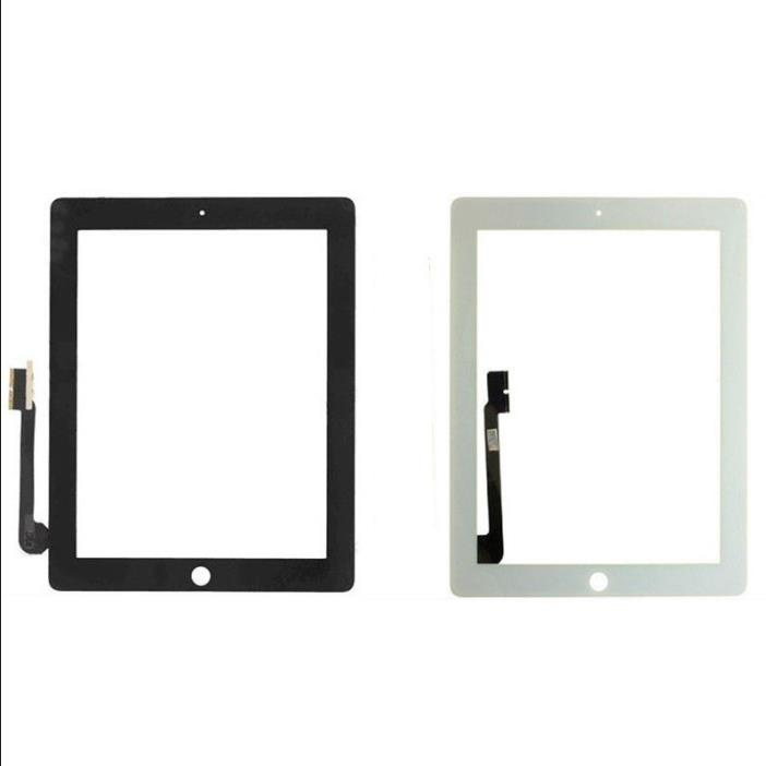 OEM For iPad4 iPad3 Replacement Touch Screen Digitizer Front Glass Panel