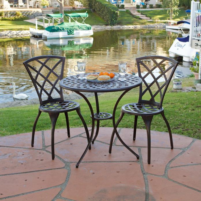 Outdoor Table Chair Set Garden Weather Resistant Home Yard Furniture Patio New