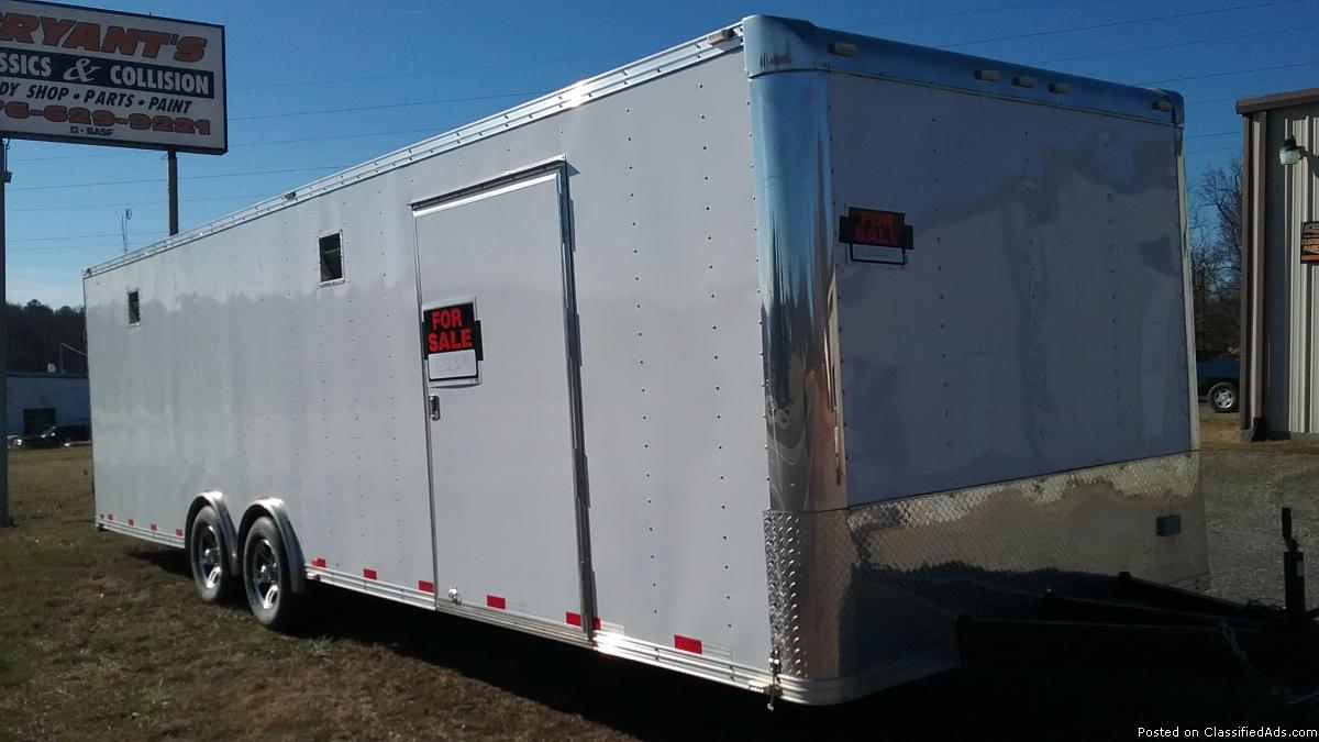 2013 28 ft. enclosed trailer