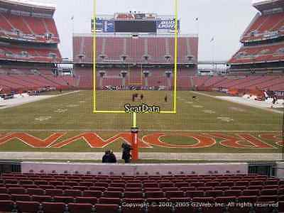 Cleveland Browns PSL'S lower bowl Sec 147 row 26, rights to buy tickets