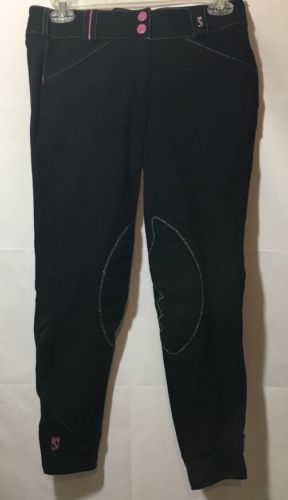 SYMPHONY BREECHES RIDING PANTS BY TREDSTEP ENGLISH EQUESTRIAN WOMEN'S SIZE 26US