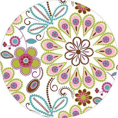 Wall Stickers Murals Brewster Wall Pops WPD99855 Peel Stick Kaleidoscope Dot,