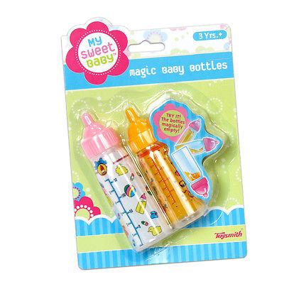 Toysmith My Sweet Baby Magic Baby Bottles // **NEW**