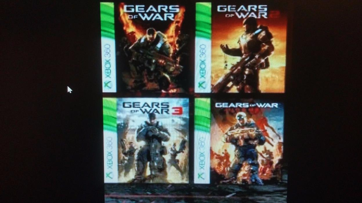 XBOX 360 OR XBOX 1 -FIRST 4 GEARS OF WAR GAMES:NEW DOWNLOADABLE CODES $45.00